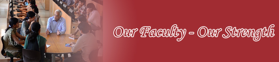Our Faculty - Our Strength